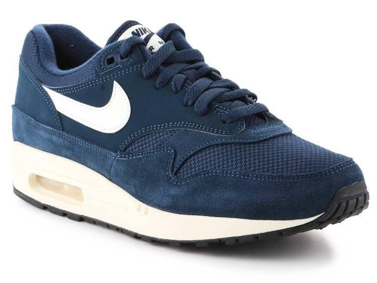 Nike Air Max 1 Ultra 2.0 Essential White Silver Men Shoes 875695 103