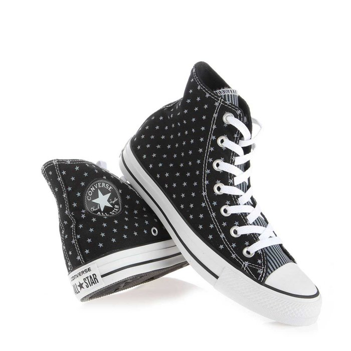 Converse CT HI Black White 144825F