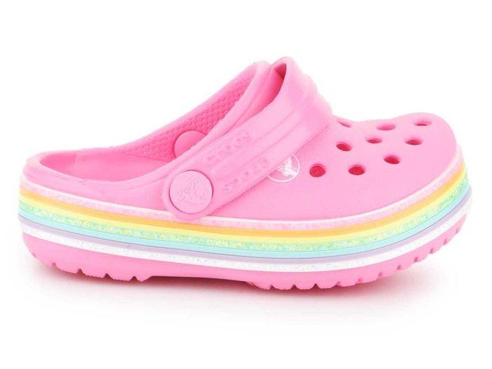 Crocs Crocband Rainbow Glitter CLG K 206151-669