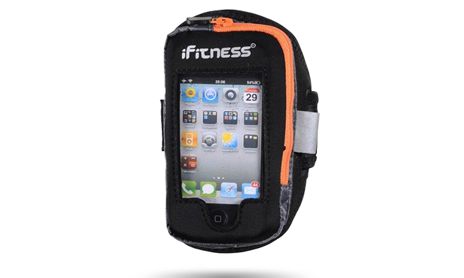 IFIT-0140 iFitness Porkowiec Na Ramię ARM02 BLK/ORANGE S/M