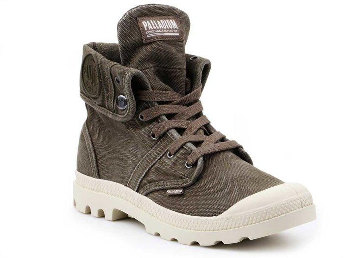 Lifestyle shoes Palladium Us Baggy Dark Olive 02478-327