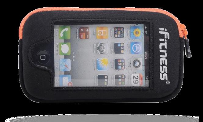 iFitness Kieszeń Na iPhona OA ADP03 BLK/ORANGE IFIT-0198