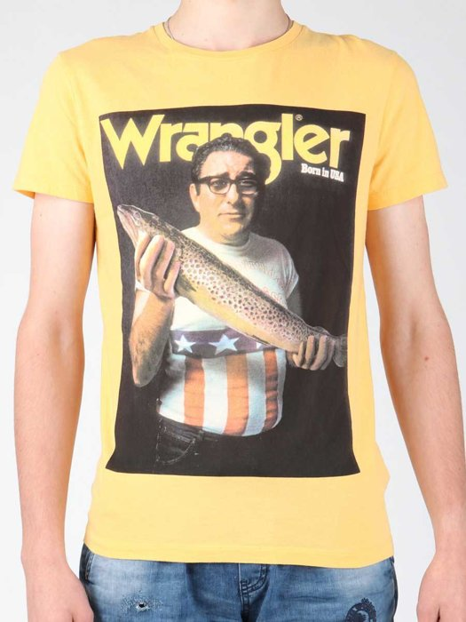T-Shirt Wrangler S/S Graphic T W7931EFNG