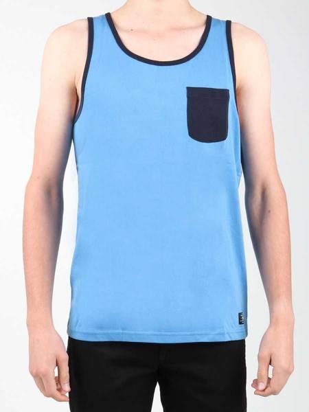 T-shirt bez rękawów DC EDYKT03377-BLV0