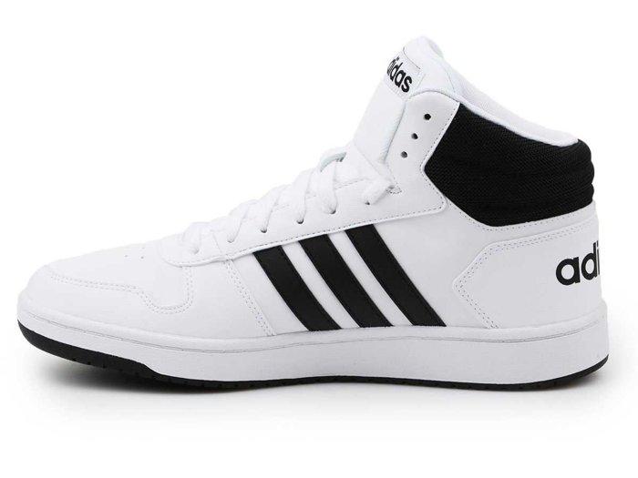 Buty lifestylowe Adidas Hoops 2.0 MID BB7208