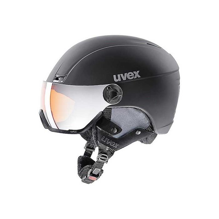 Kask Uvex HLMT 400 VISOR STYLE BLACK MAT 566215-2007