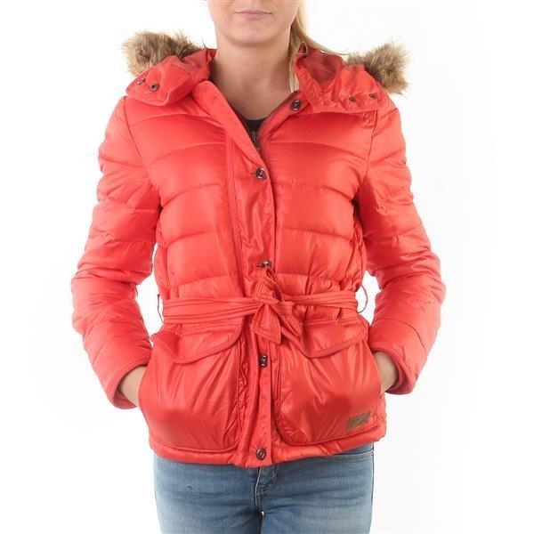 "Kurtka Damska Lee 56TWSAF Puffer Jacket ""Lava Red"""
